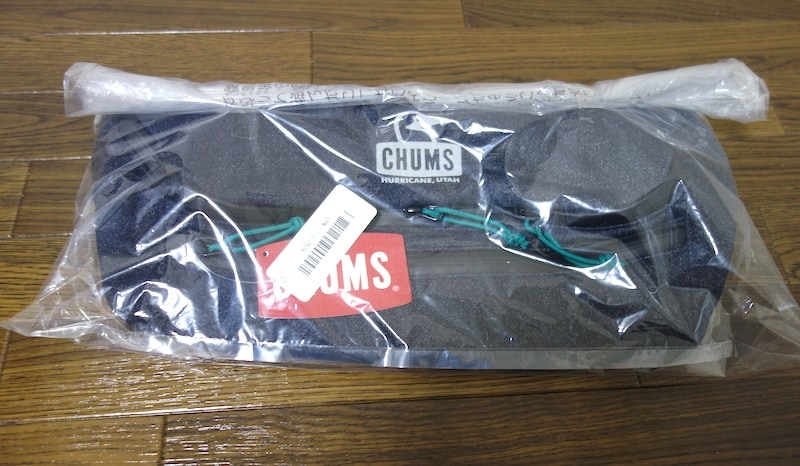 chums Chumthing Sweat Waist Packを触ってレビュー